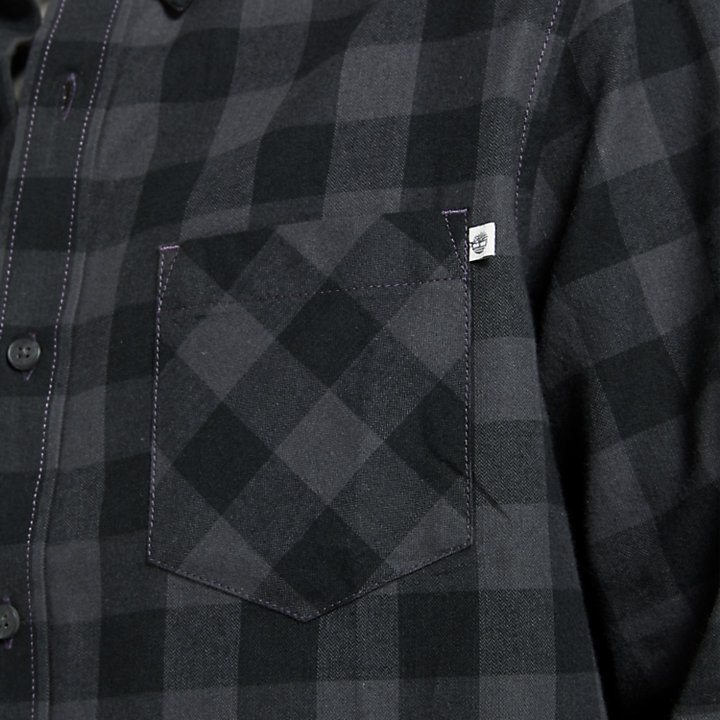 Men's Nashua River Buffalo Check Flannel Shirt-