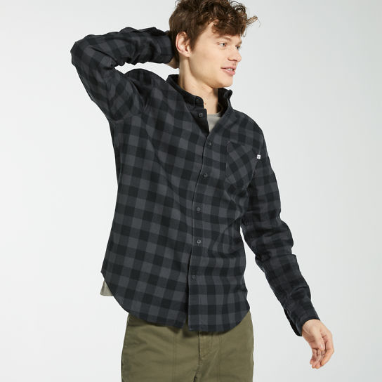 Men's Nashua River Buffalo Check Flannel Shirt