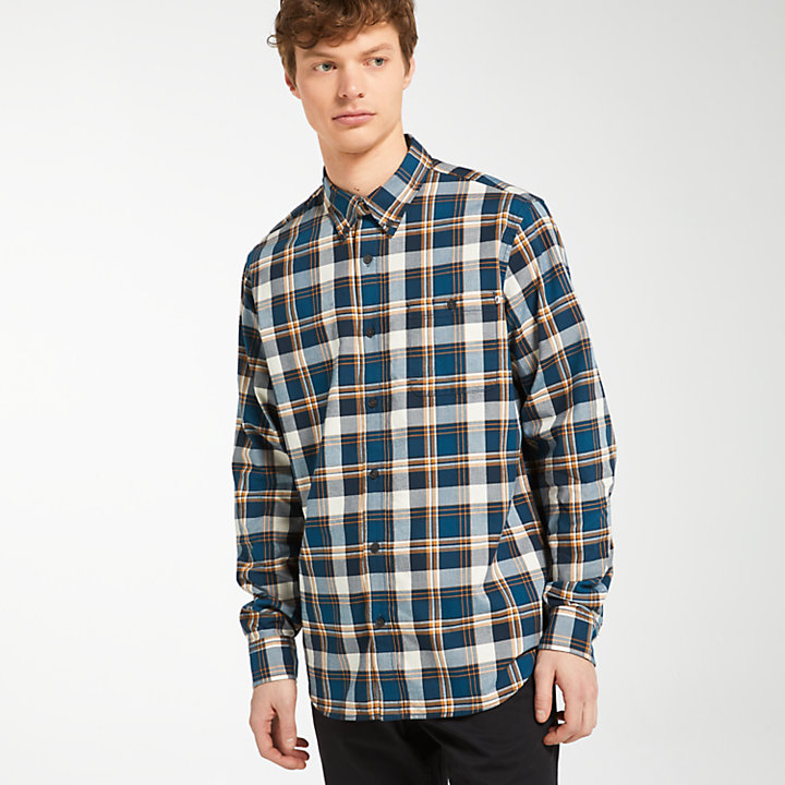 Men's Back River Lightweight Plaid Shirt-