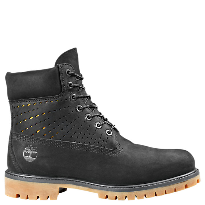 Men's 6-Inch Premium Perforated Boots-