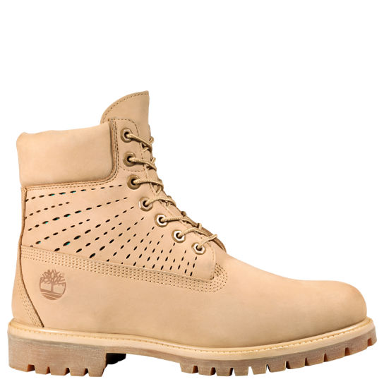 Men's 6-Inch Premium Perforated Boots