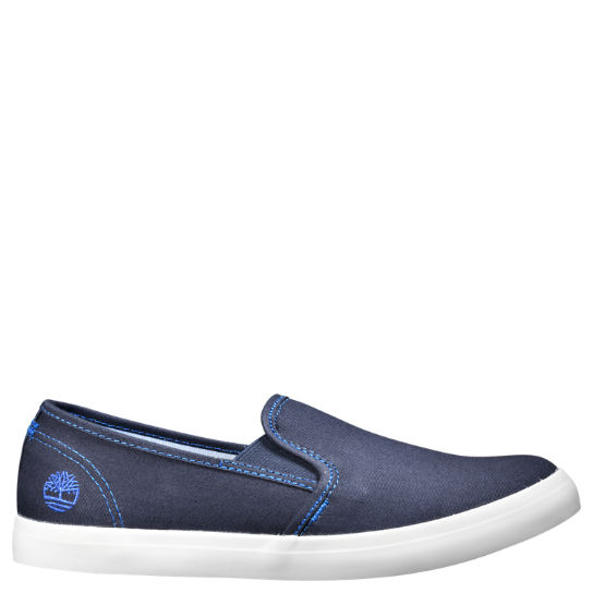 Women's Newport Bay Canvas Slip-On Shoes