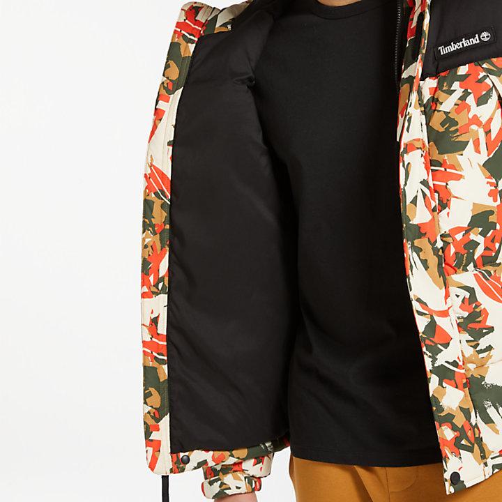 Men's Camo Puffer Jacket-