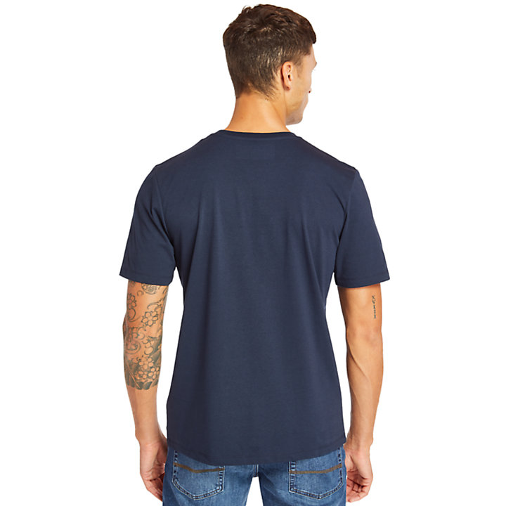 Men's Mink Brook 3D Embossed T-Shirt-