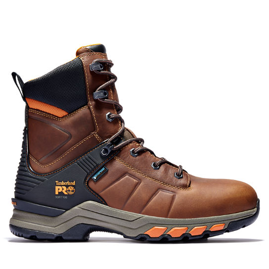 "Men's Timberland PRO® Hypercharge 8"" Soft Toe Work Boots"