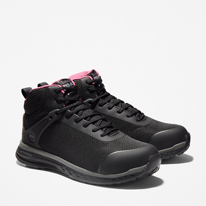 Women's Timberland PRO® Drivetrain SD35 Comp Toe High-Top Work Shoes-