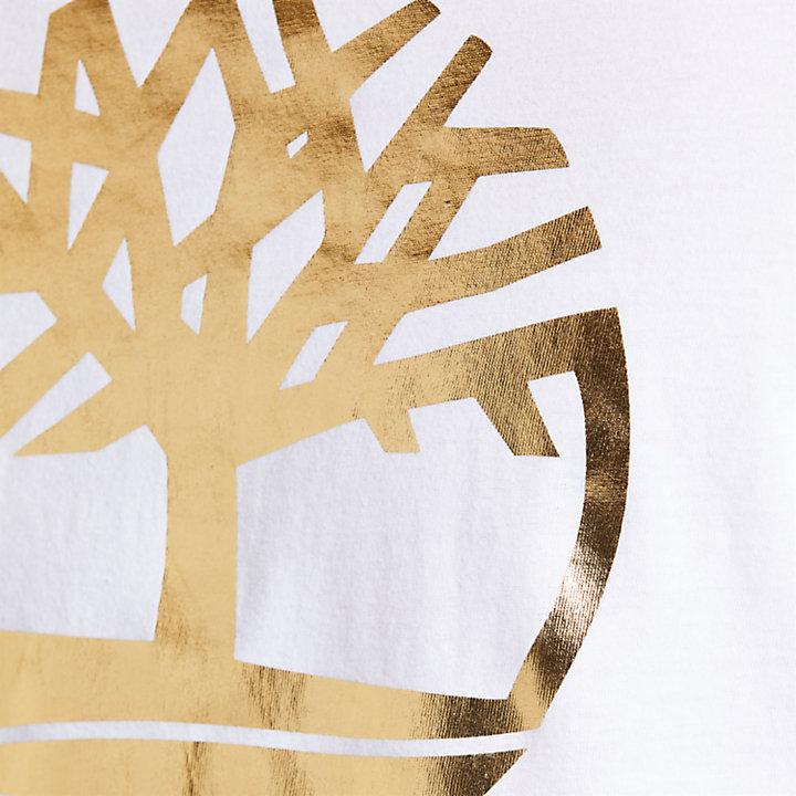 Men's Gold Logo Holiday T-Shirt-