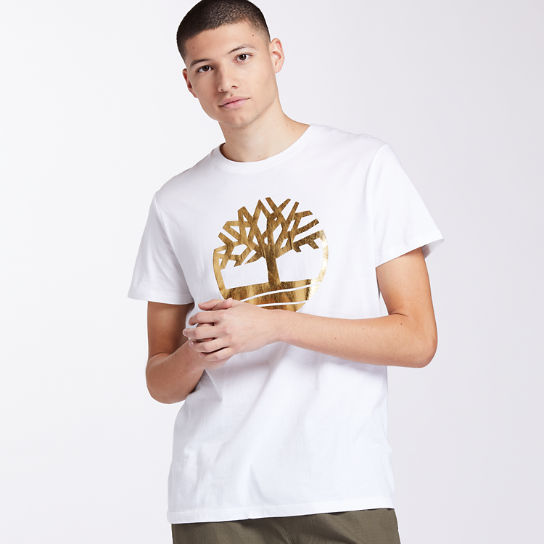 Men's Gold Logo Holiday T-Shirt