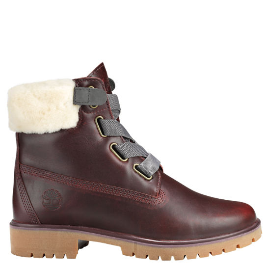 Women's Jayne Shearling-Collar Boots