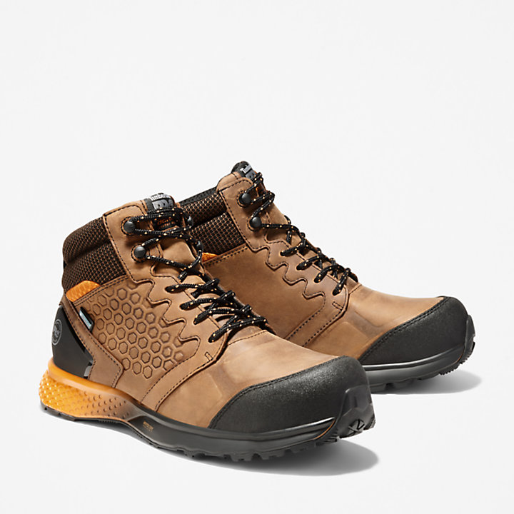 Men's Timberland PRO® Reaxion Comp Toe Work Boots-