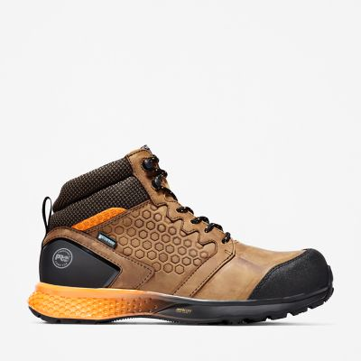 Men's Reaxion Composite Toe Waterproof Work Sneaker