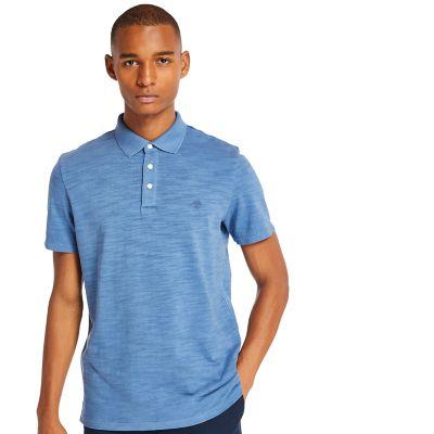 Men's Fresh River Short Sleeve Slub Polo Shirt