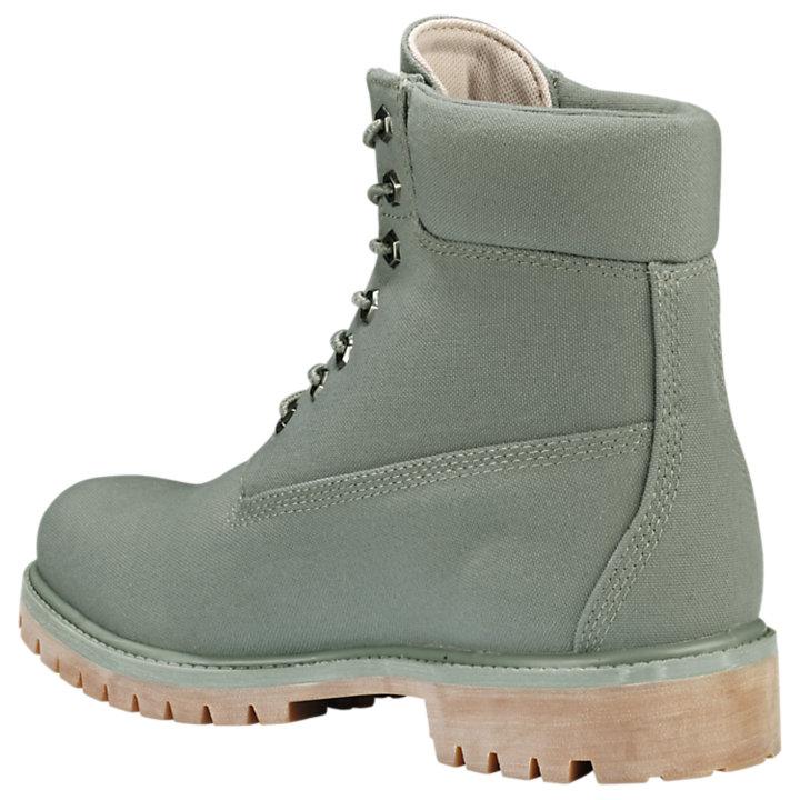 Men's 6-Inch Premium Canvas Boots-