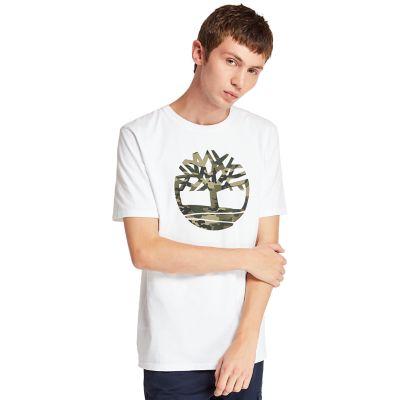 Men's Kennebec River Camo Tree Logo T-Shirt