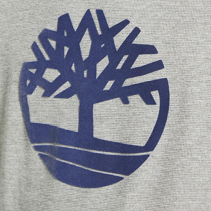 Men's Dyer River Slim Fit Tree Logo Shirt-