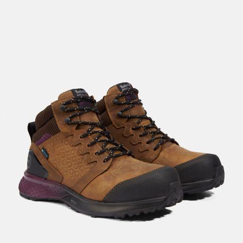 Women's Reaxion Composite Toe Waterproof Work Sneaker-