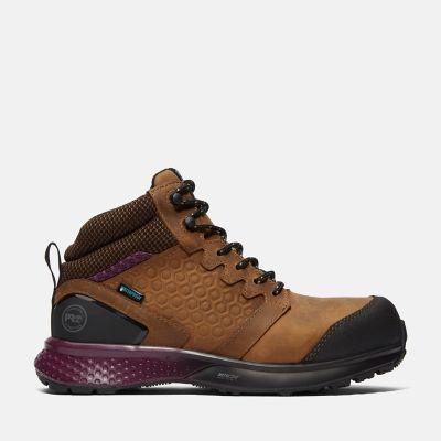 Women's Reaxion Composite Toe Waterproof Work Sneaker