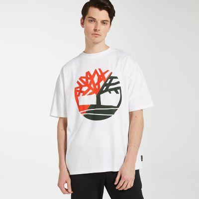 RÆBURN X Timberland Short Sleeve Logo T-Shirt