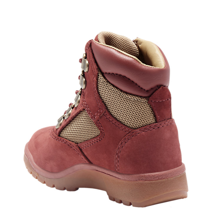 Toddler 6-Inch Mixed-Media Field Boots-