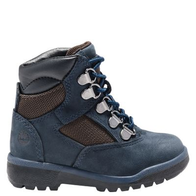 Toddler 6-Inch Mixed-Media Field Boots