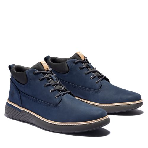 Men's Cross Mark Better Leather Chukkas-