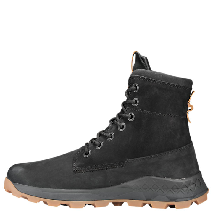 Men's Brooklyn Side Zip Sneaker Boots
