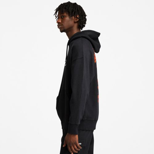 Men's Garment-Dyed Graphic Hoodie-