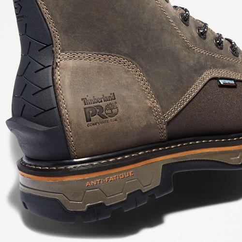 Men's Timberland PRO® True Grit 8-Inch Waterproof Side-Zip Work Boot-