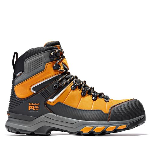 Men's Timberland PRO® Hypercharge TRD Waterproof Composite-Toe Work Boots-