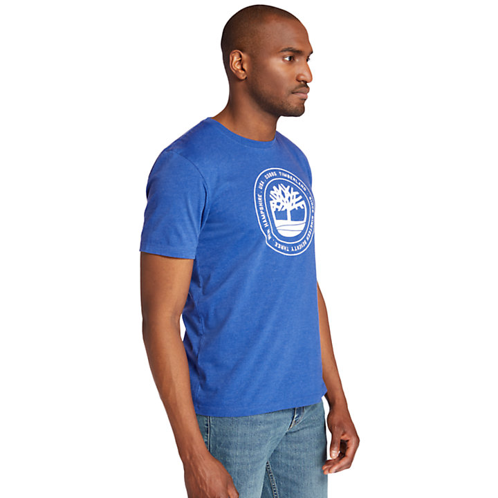 Men's Circle Tree Logo Graphic T-Shirt-