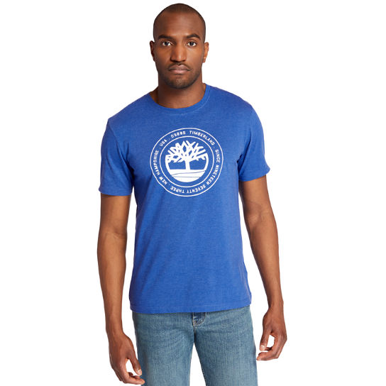 Men's Circle Tree Logo Graphic T-Shirt