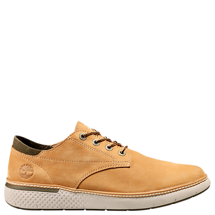 Men's Cross Mark Leather Sneakers-