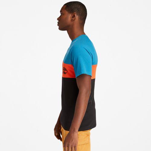 Men's Short-Sleeve Cut-and-Sew T-Shirt-