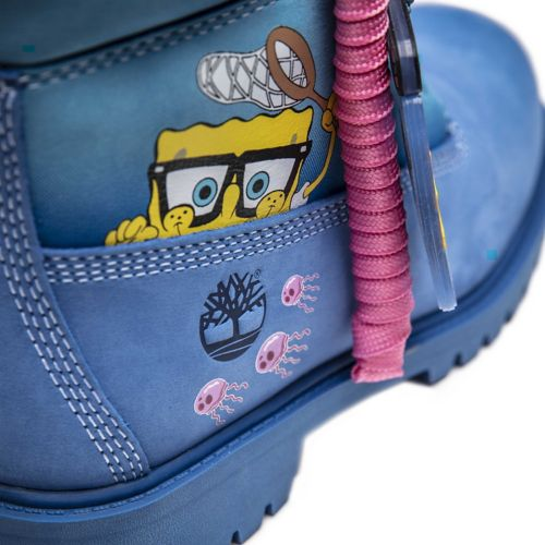 Junior SpongeBob SquarePants X Timberland 6-Inch Waterproof Boots-