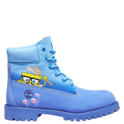 Junior SpongeBob SquarePants X Timberland 6-Inch Waterproof Boots