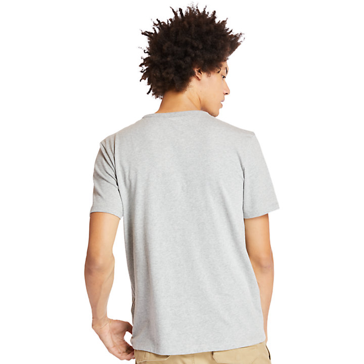 Men's Palms Linear Logo Graphic T-Shirt-