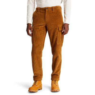 Men's Corduroy Cargo Pants