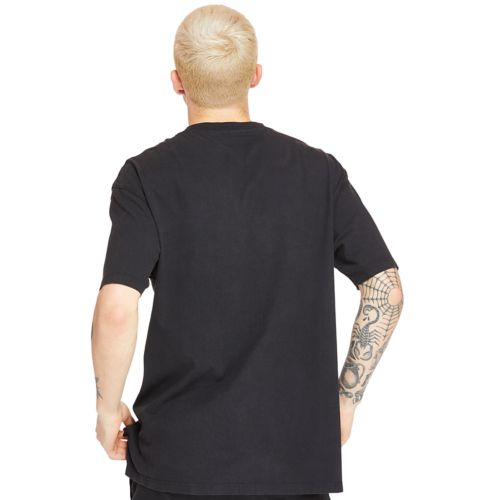 Men's Relaxed Fit Mixed-Media T-Shirt-