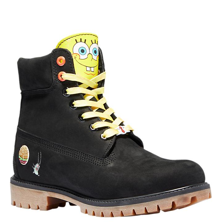 SpongeBob SquarePants X Timberland 6-Inch Waterproof Boots-