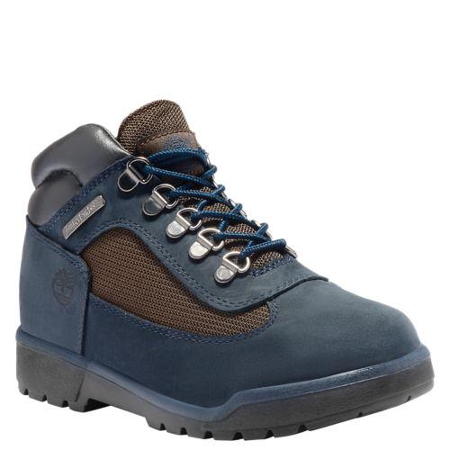 Junior Mixed-Media Field Boots-