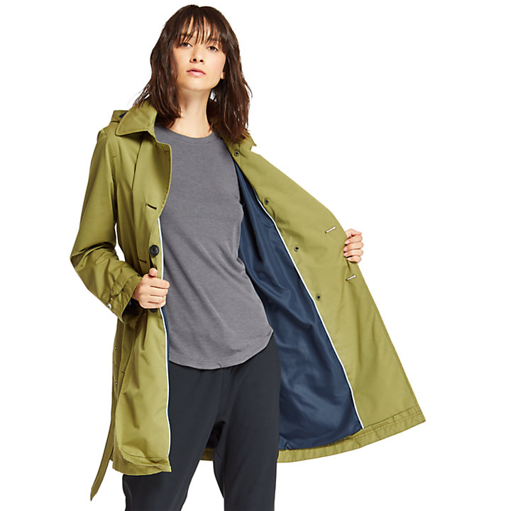 Women's Classic Waterproof Trench Coat-