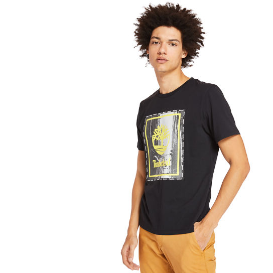 Men's Street Photo Graphic T-Shirt