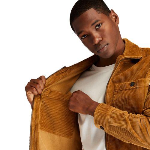 Men's Full-Zip Corduroy Overshirt-