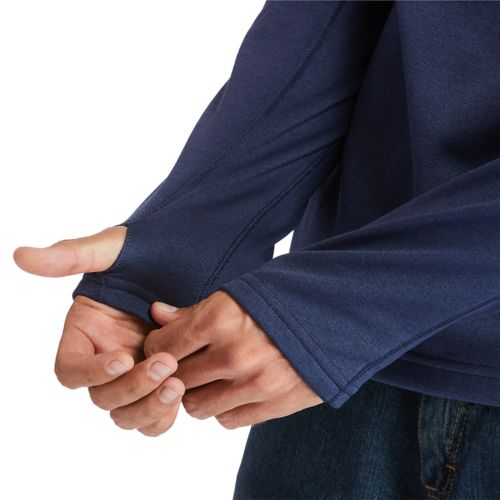 Men's Big & Tall Timberland PRO® Understory Quarter-Zip Fleece Shirt-