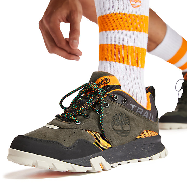 Men's Garrison Trail Low Waterproof Hiking Boots-
