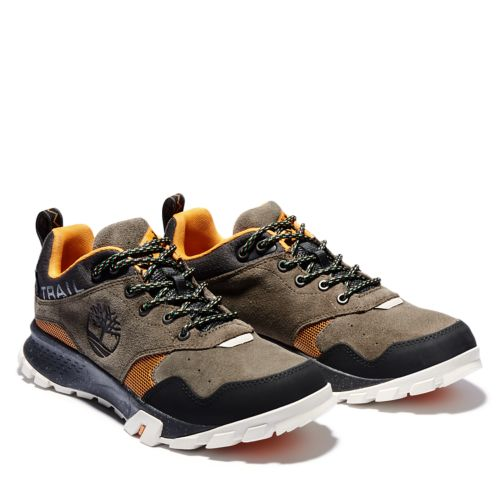 Men's Garrison Trail Low Waterproof Hiking Shoes-