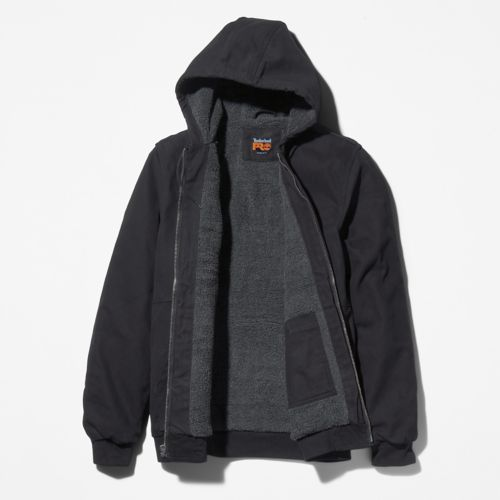 Men's Timberland PRO® Gritman Lined Canvas Hooded Jacket-