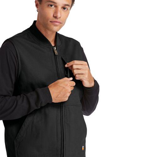 Men's Timberland PRO® Gritman Lined Canvas Vest-