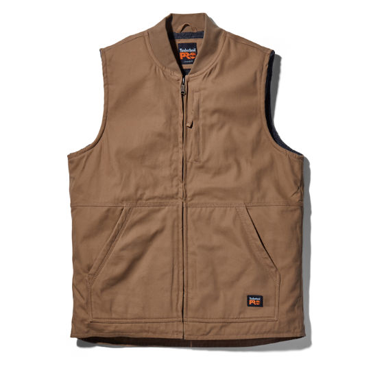 Men's Timberland PRO® Gritman Lined Canvas Vest