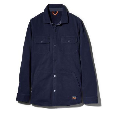 Men's Timberland PRO® Mill River Fleece Shirt Jacket